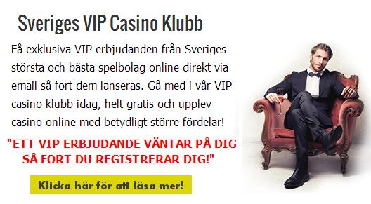 vip casino klubb