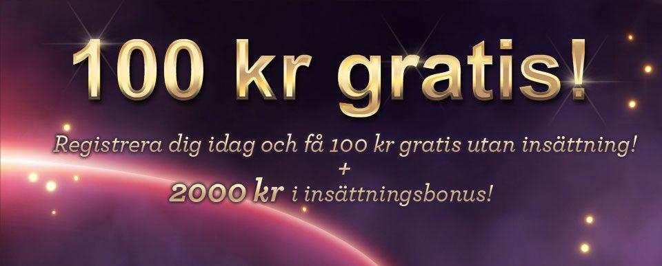 100kr gratis hos vinnarum casino
