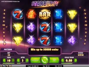Starburst slot freespins