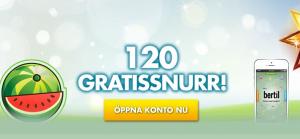 bertil freespins 120