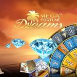 20 free spins i Mega Fortune Dreams