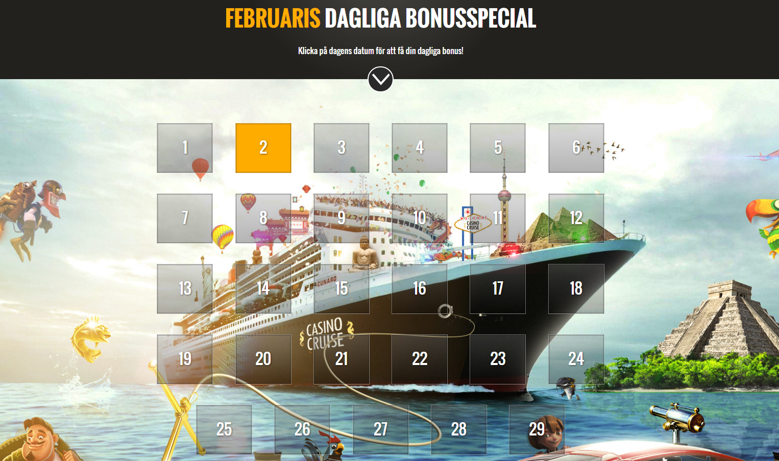 casinocruise-kalender
