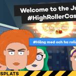50 free spins & 200% i bonus hos Highroller